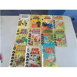 Sad Sack & Beetle Bailey Comic