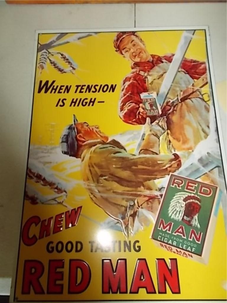 Red Man Chewing Tobacco America S Best Chew