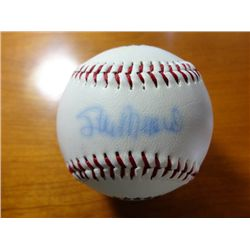 STAN MUSIAL HAND SIGNED BASEBALL