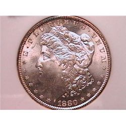 1880-S Morgan Dollar Gem MS65 NGC