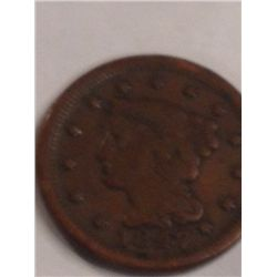 1847 LARGE CENT MATRON HEAD