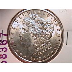 1890-S Morgan Dollar MS60