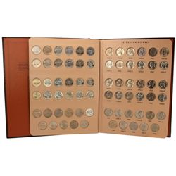 70-pc. 1938 - 1964 US BU Jefferson Nickel 5C Set - Complete