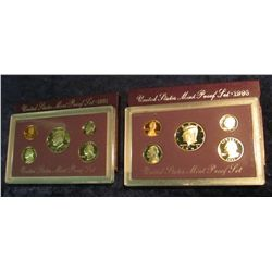 806. 1991S & 1993S US Proof Sets. Original as Issued.