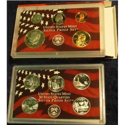 807. 2003S Silver US Proof Set. Original as Issued.