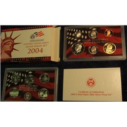 809. 2004S Silver US Proof Set. Original as Issued.