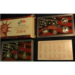 810. 2004S Silver US Proof Set. Original as Issued.