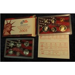 811. 2005S Silver US Proof Set. Original as Issued.
