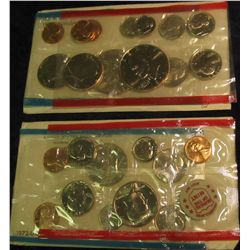 815. 1972 & 1973 US Mint Sets. Original as Issued.