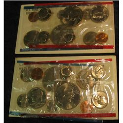 817. 1976 & 1977 US Mint Sets. Original as Issued.