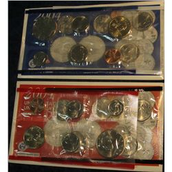 834. 2004 US Mint Set. Original as Issued.