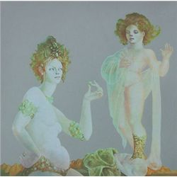 FINI LEONOR FINI H.Signed Double Sided Print
