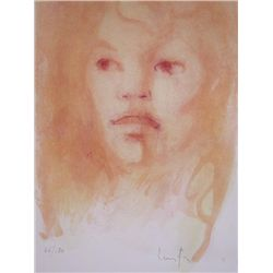 FINI LEONOR FINI Hand Signed Lithograph French