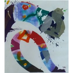 FRANCIS SAM FRANCIS Hand Signed Etching Abstract American 1993