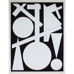 HERBIN AUGUSTE HERBIN S.Silkscreen Abstract Art