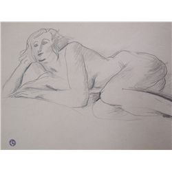 SURVAGE LEOPOLD SURVAGE Drawing Russian Cubism