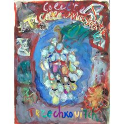 TERECHKOVITCH TERECHKOVITCH -4 Signed Gouaches & 42 Lithos Russian