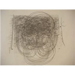TUTUNDJIAN L.A. TUTUNDJIAN Drawing ARMENIAN Abstract 1965