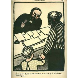 Felix Vallotton Original Lithograph