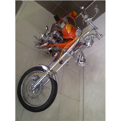Honda CB 750 Chopper, Doch Chrome motor, Custom Build, Low maintenance (big power)