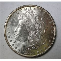 1880-O MORGAN DOLLAR CHOICE FROSTY BU+