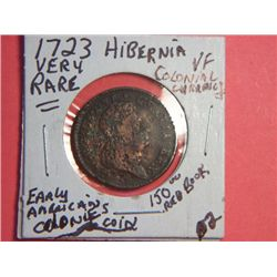 1723 HIBERNIA COLONIAL CURRENCY