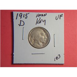 1915 D BUFFALO NICKEL