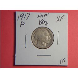 1917 P BUFFALO NICKEL