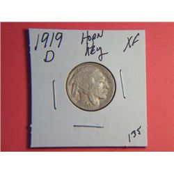 1919 D BUFFALO NICKEL