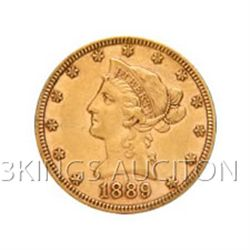$10 Liberty Extra Fine Early Gold Bullion