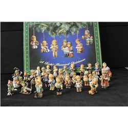 BERTA HUMMEL CHRISTMAS DECORATING SET - 30 PCS. - MINT