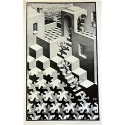 Original Signed Lithograph by Artist M.C. Escher