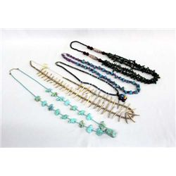 Large Collection of Necklaces, Some Navajo