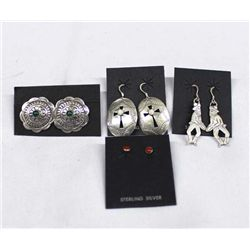 Navajo Sterling Earrings