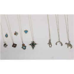 Navajo Necklaces and Pendants