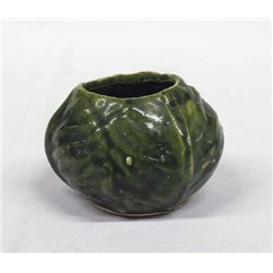 Majolica Cabbage Leaf Art Pottery