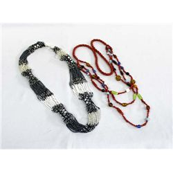 Ethnic Trade Bead Necklaces