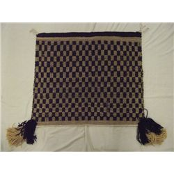 Navajo Double Sided Single Saddle Parade Blanekt
