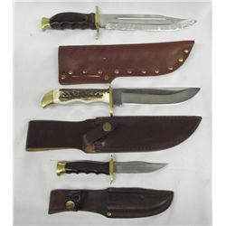 Fixed Blade Knives in Scabbards