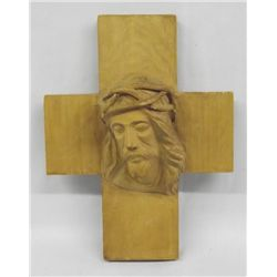 Christ Crown of Thorns Wood Carving