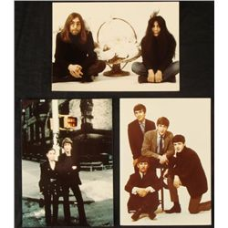 3 Beatles John Lennon, Yoko Ono 5x7 Photos 2nd Gen.