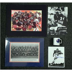 Chicago Bears Lot- Signed Sayers Photo Team Photo Print
