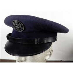 U.S.A.F. Military Hat Wool 7 1/4 Blue T-1 Bandcroft Cap