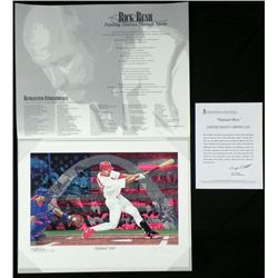 Rick Rush National Hero Signed and Numbered Print
