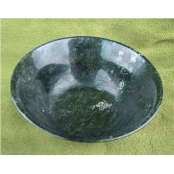 MWF979A Chinese Natural Jade handcarved Bowl