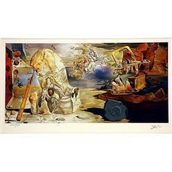 Salvador Dali Signed Limited Edition -The Apotheosis of Homer