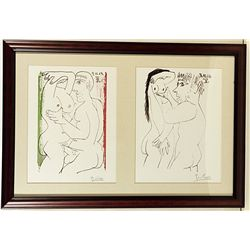 RARE ORIGINAL SIGNED LITHOGRAPHS BY ARTIST PABLO PICASSO