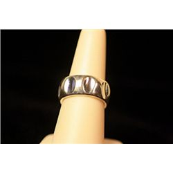 Unisex Beautiful Stylish Sterling Silver Tiffany Ring