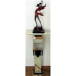 Fiery Dancer - Limited Edition Bronze by Sergey with pedestal