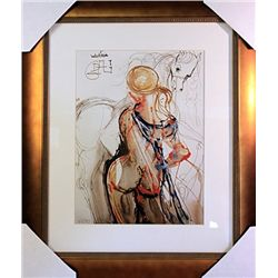 Salvador Dali Signed Limited Edition - Ecuyere Et Cheval